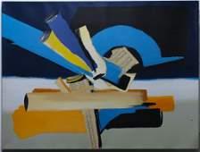 Harriet Oppenheim American Abstract Art Painting