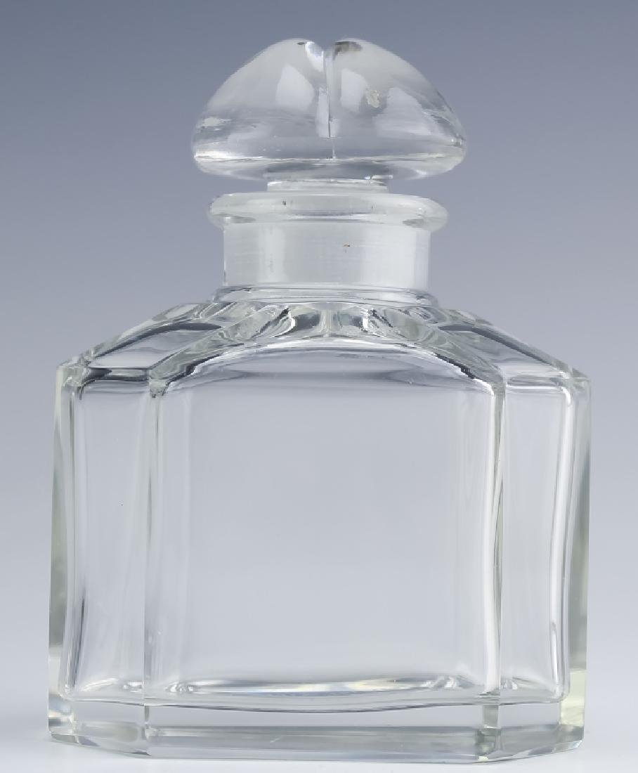 Vintage Signed Baccarat Guerlain Perfume Bottle