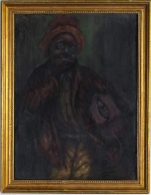 Aaron Douglas Black Americana Genre Oil Painting