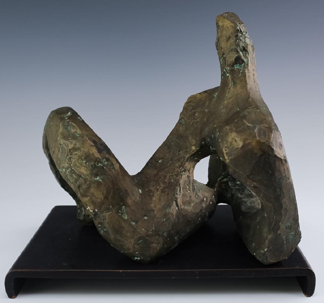 VALVERDE Modern Abstract Figural Bronze Sculpture