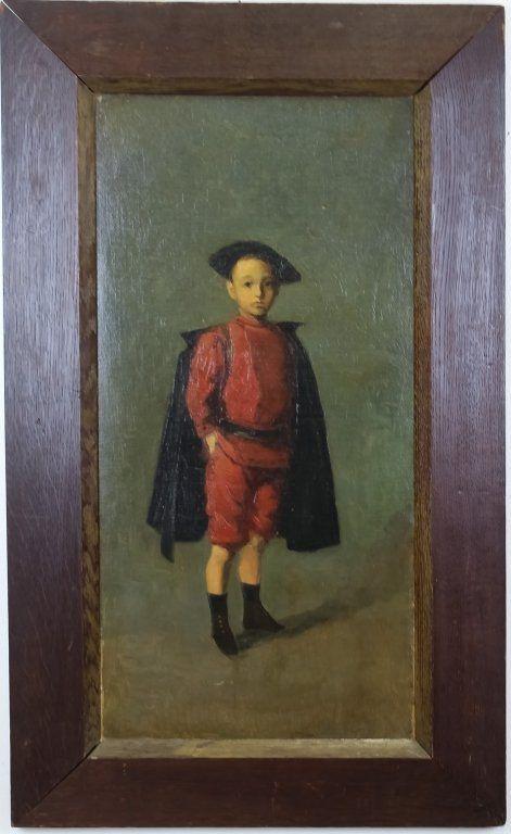 Wilhelm Maria Hubertus Leibl German Oil Painting