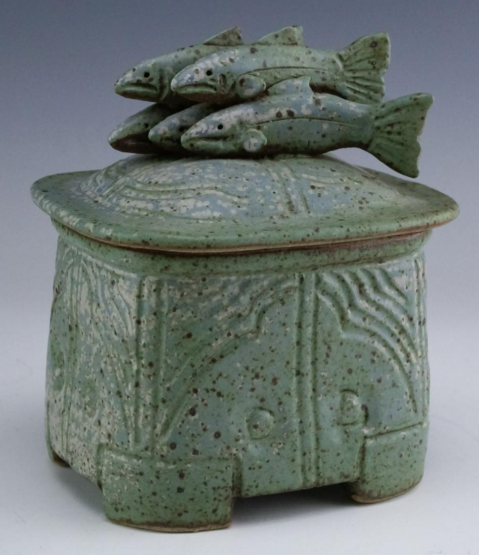 James Robinson American Studio Art Pottery Box