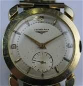 Working Men's Vintage 14K Longines Fancy Lug Watch