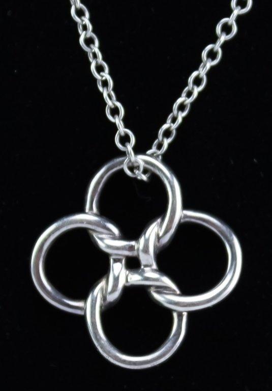 Tiffany & Co Elsa Peretti Sterling Silver Pendant