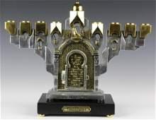 Frank Meisler Judaica Golden Gate Hanukkah Menorah