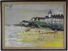 Robert Hill American Landscape Oil Art Painting