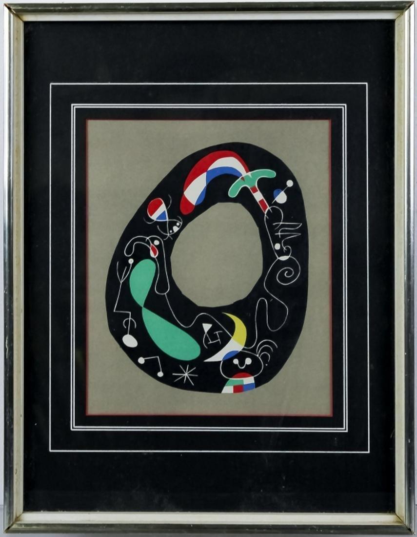 Joan Miro 1893-1983 Spain Jacques Prevert Litho