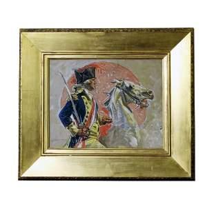 Joseph Leyendecker George Washington Illustration