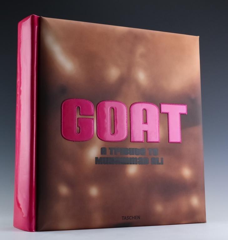 Jeff Koons Muhammad Ali GOAT Book w Photo SIGNED