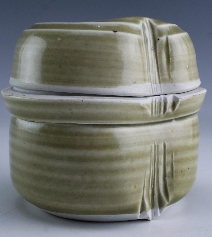 Anne Stannard Studio Art Pottery Modern Lidded Jar