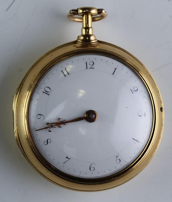 1787 Mudge & Dutton 22k Gold Pocket Watch & Case