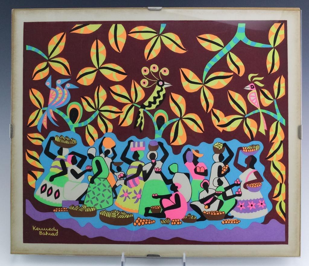 Patrick Kennedy Bahia Chilean Silkscreen Serigraph