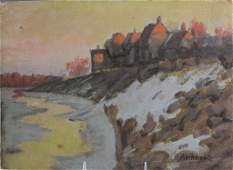 Albert Abramovitz American Landscape Oil Painting