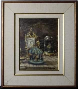 Martin Jackson 19191986 American Oil Painting