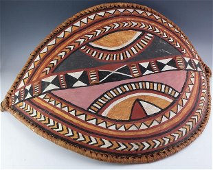 AFRICAN MAASAI PAINTED TRIBAL SHIELD - Nov 29, 2017 | Rare