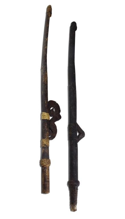 "Tribal 32"" Wood Primitive Fire Starter Plough Plow"