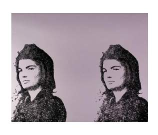 Andy Warhol Jacqueline Kennedy II AP Screenprint
