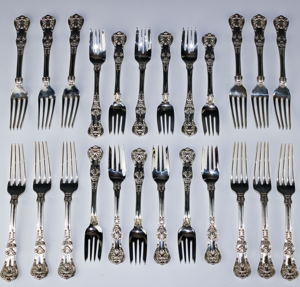 Tiffany & Co Sterling Silver English King Flatware