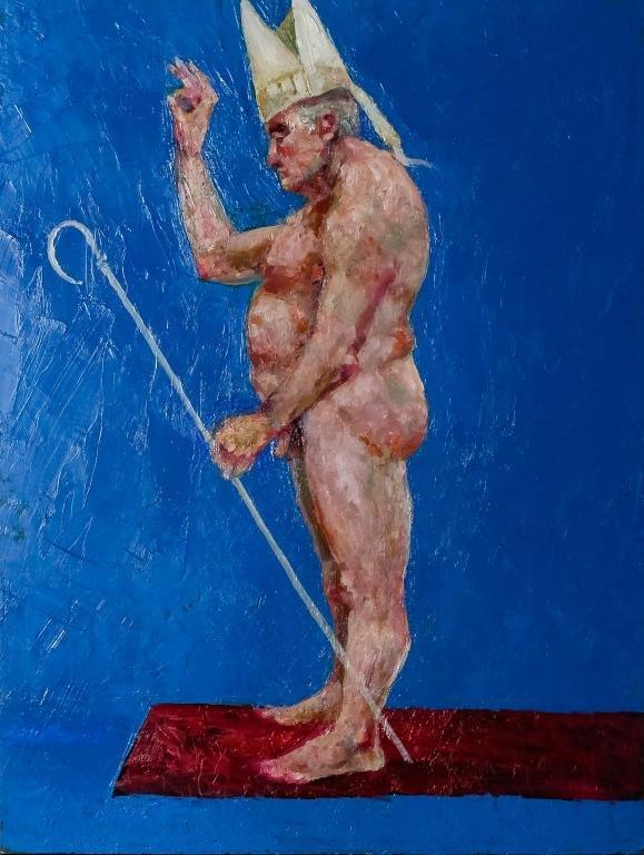 John Hardy (American 1923-2014) N.Y.C Oil Painting