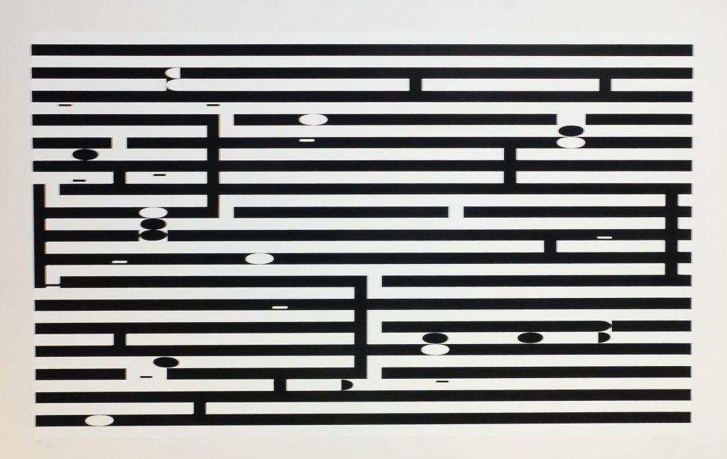 Yaacov Agam Op Art Metamorphosis LE Serigraph