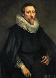 17thC Flemish Portrait Painting manner Anthony Van Dyck