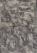 Albrecht Durer 1471-1528 Whore of Babylon 15thC Woodcut