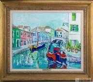 Yolande Ardissone b1927 Impressionist Oil Painting