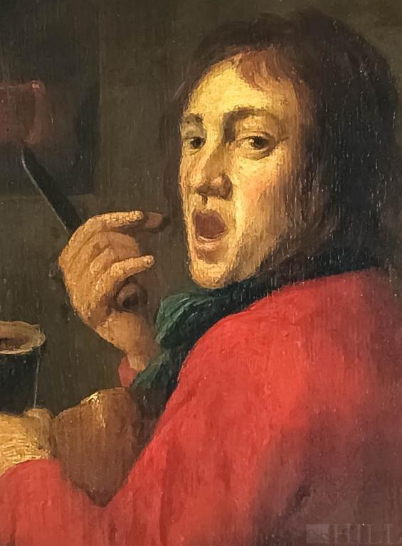 Flemish School Oil Painting manner Joos Van Craesbeeck