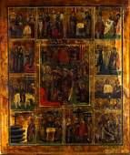 Greek Russian Eastern Orthodox Jesus Icon Painting