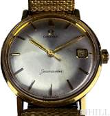 Vintage Gold Capped Omega Seamaster Date Watch