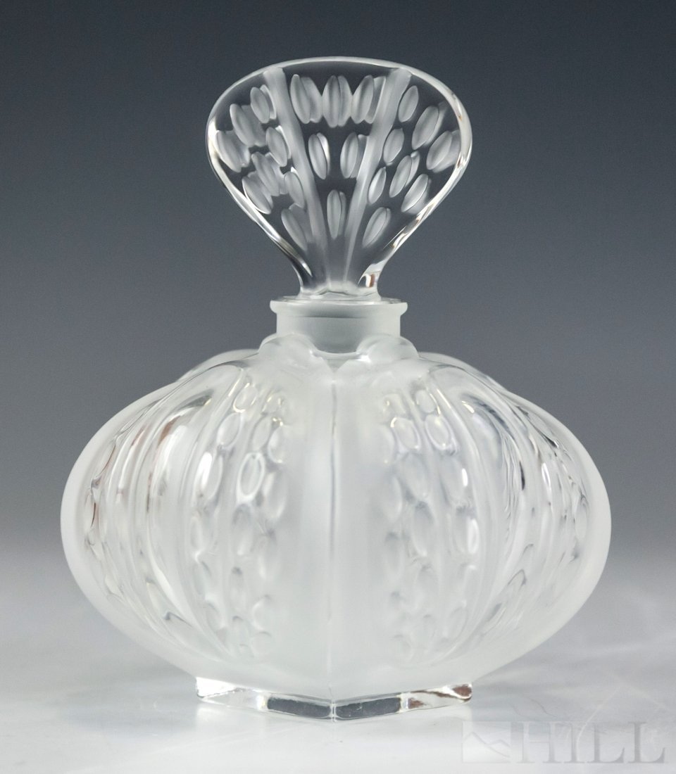 Lalique Crystal Cactus Perfume Flask