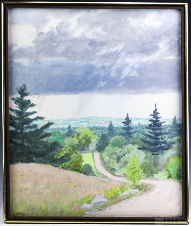 Joseph Fiore 1925-2008 American Landscape Painting