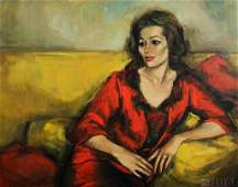Jan De Ruth Portrait Of A Lady Oil Canvas Painting