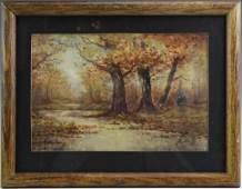 Pierre Eugene de Montezin Landscape Painting