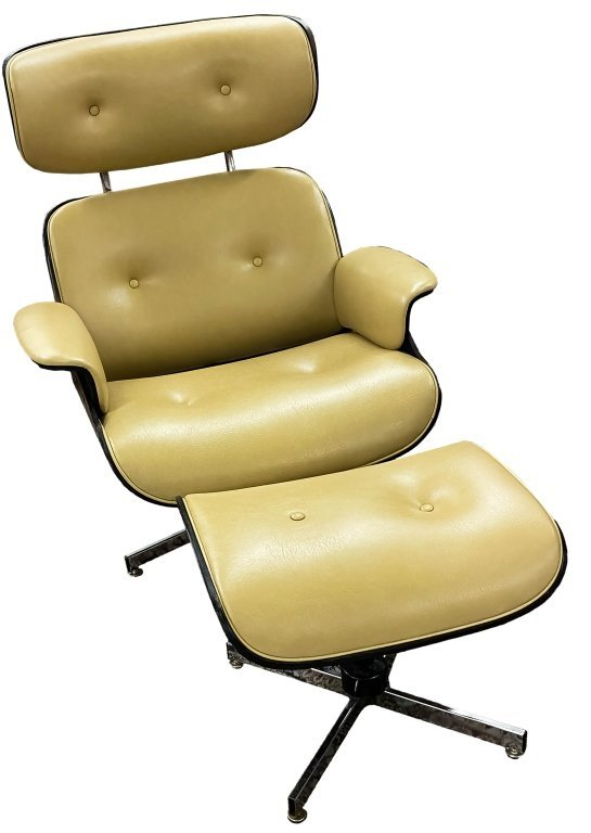 Vtg Mid Century Modern Eames Style Lounge Chair