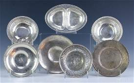 LOT 7 Sterling Silver Serving Pieces Total 814g