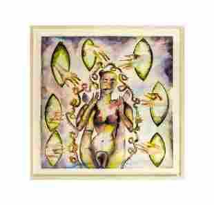 Francesco Clemente (Italian b.1952) CHARM Painting