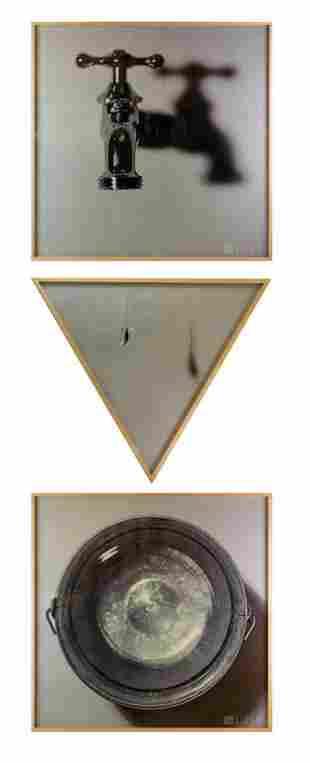 Bill Beckley b1946 American LE Triptych Photograph