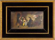 Georg Fischhof 1859-1914 Austria Figural Painting