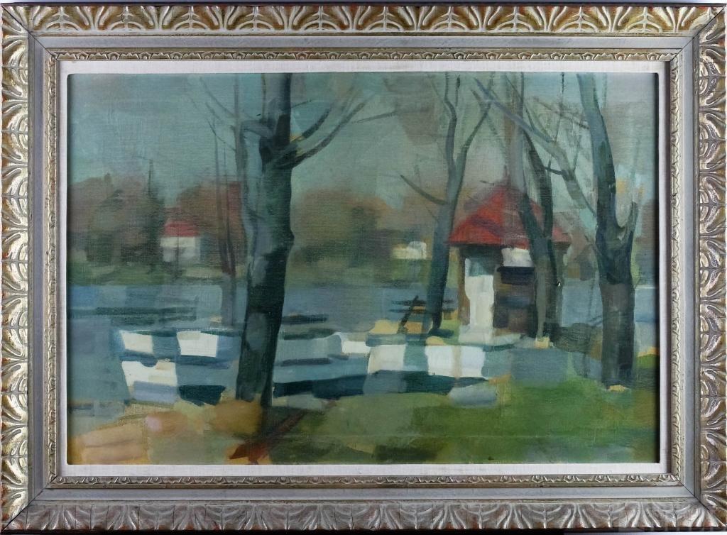 Sperry Andrews 1917-2005 American Landscape Oil