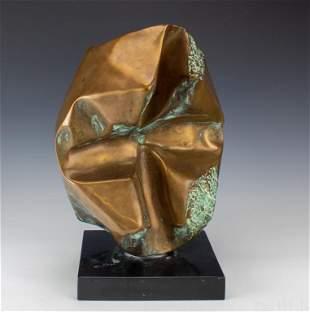"Enrico Donati Italian Modern 16"" Bronze Sculpture"