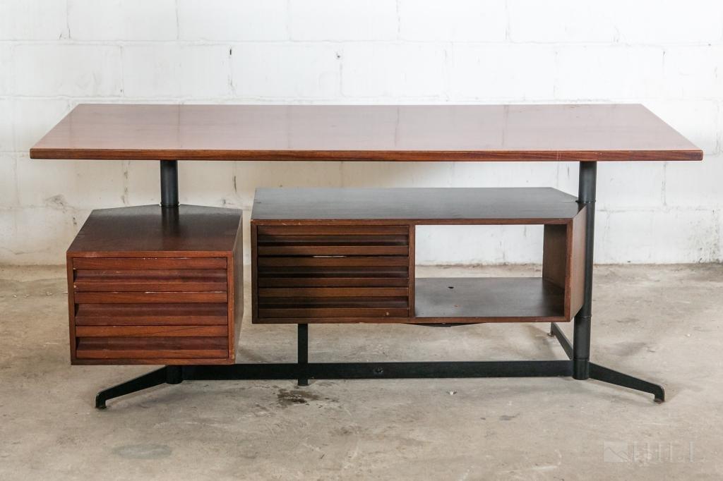 Osvaldo Borsani Tecno Italian Modern Desk c.1970's