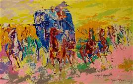 Signed Leroy Neiman Homage Remington LE Serigraph