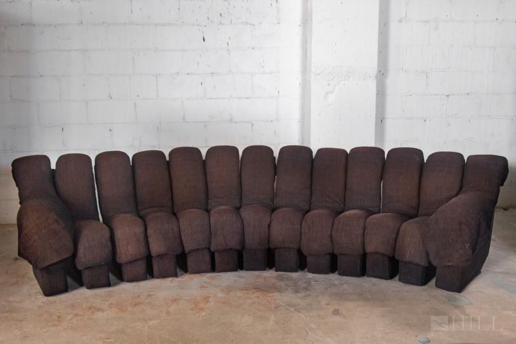 De Sede By Ueli Berger 13-section Non Stop Sofa