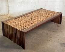 Percival Lafer Rosewood Modernist Coffee Table MCM