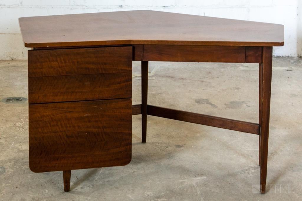 Bertha Schaefer M. Singer & Sons Mid Century Desk