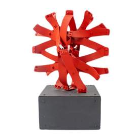 "Edgar Negret ""SOL"" Abstract LE Metal Art Sculpture"