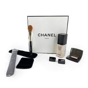 Chanel LOT 6 Makeup Lumiere Foundation Eyeshadow
