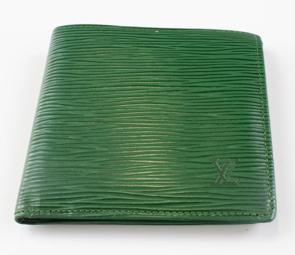 Louis Vuitton Green Epi Leather Marco LV Wallet