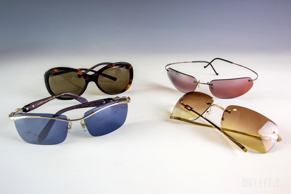 4 Sunglasses Kieselstein Cord Gucci Maui Theory